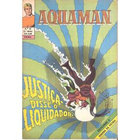 Aquaman Nº 18 - Setembro De 1970 - Ebal