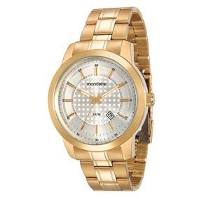 Relógio Mondaine Análogo Social 78445gpmvda5 Gold