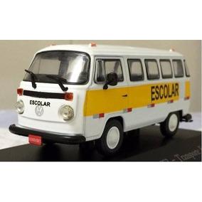 Coleção Veículos De Serviço Volkswagen Kombi T2 - Escolar