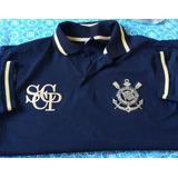 Camisa Polo Corinthians Preto E Dourado no Mercado Livre Brasil c6435407bb108