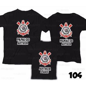 Bola De Aniversario Corinthians Camisetas - Camisetas e Blusas no ... 16bd1d7580f7a