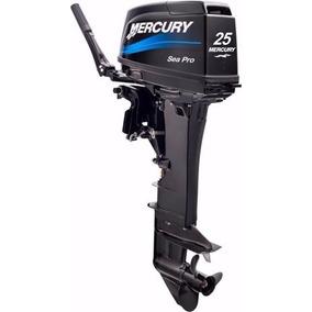 Adesivo Motor De Popa Mercury 25 Hp Sea Pro