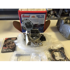 Carburador Quadrijet Summit Racing 600cfm Lacrado Na Caixa