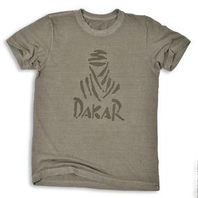 Camiseta Dakar/beduino Frontal Areia - Original