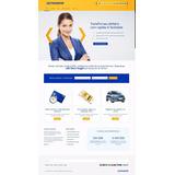 Tema Wordpress Para Finanças, Empréstimo, Credito, Cambio