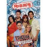 Rebelde Rbd Tercera Temporada 3 Tres Dvd