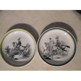 Lote 2 Platos De Porcelana Alemana - Villeroy & Boch