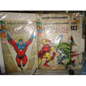 Coleção Histórica Marvel Os Vingadores Nº 05- Panini- Novo