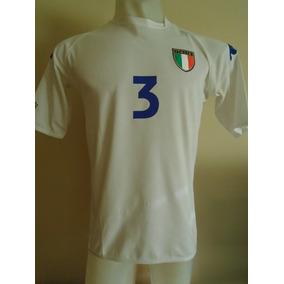 Camiseta Selección Italia Kappa Mundial Japón 2002 Maldini 3 145b2d89b3b47