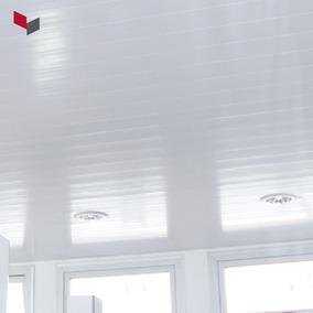 Cielorraso Y Revestimiento De Pvc - Tablilla 20cm X 13mm Esp