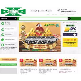 Site Associação Comercial E Clube - Em Wordpress - Pronto