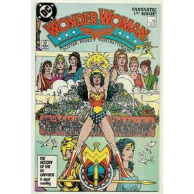 Wonder Woman #1. Mulher Maravilha Por George Pérez.