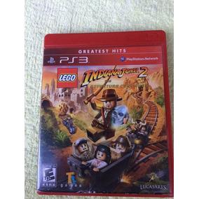 Lego Indiana Jones 2 Ps3 Midia Fisica Frete R$10