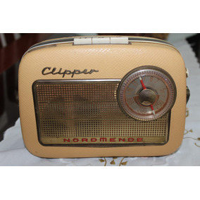 Rádio Nordmende Clipper Germany 1959. Raro! Único!