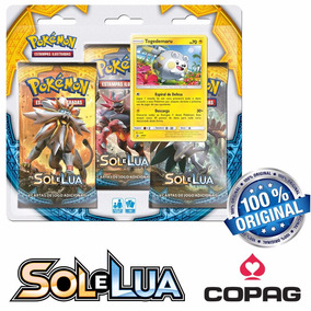 Deck Pokémon Sol E Lua - Pack Booster Triplo - Togedemary