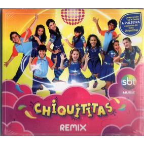 Cd Chiquititas Remix Digipack, Original Lacrado