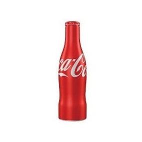 Garrafa Coca Cola Aluminio