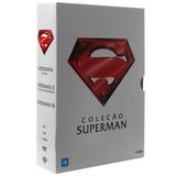 Dvd - Coleção Superman - 3 Discos Dublados