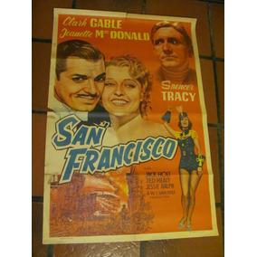 Afiches De Cine Antiguos Con Clark Gable
