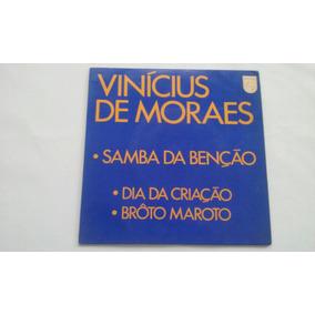 Compacto - Vinicius De Moraes - 1971