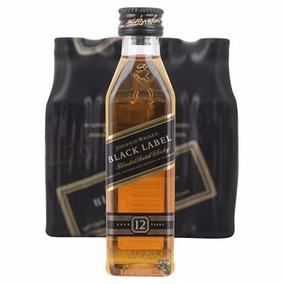 Black Label Whisky Mini 50 Ml 12 Unid
