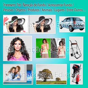Tratamento De 1 Foto Edição De Imagem E Limpeza Troca Fundo