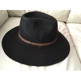 Sombrero Ala Ancha Negro De Hombre - Ropa 6d6079a0e1b