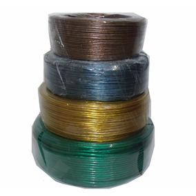 Fio Som Cabo Fio 0,50 Mm 0,75 Mm 1 Mm E 2,5 Mm 4 Rolos