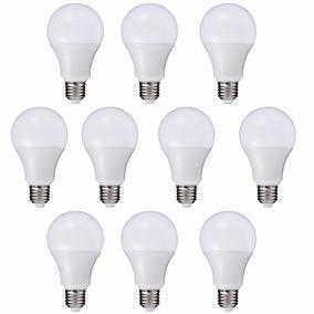 Lâmpada Super Led Branca 12w E27 Bivolt 90% Economia - 10pçs