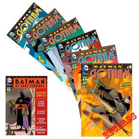 Hq Batman Gotham Coleção 6 Volumes + Batman Os Anos Perdidos
