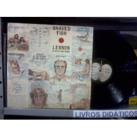 Lp John Lennon Plastic Ono Band Shaved / Encarte 1975