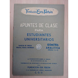 Apuntes De Clase Fundación Eva Perón Geometría Analítica