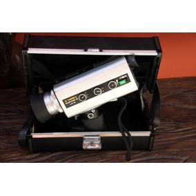 Câmera Super 8 Yashica Electro 8 Ld-6 Como Case Original Par