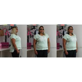 3cfa7f5721f Plus Size Camiseta T-shirt Numero Bata Regata Tamanho Grande