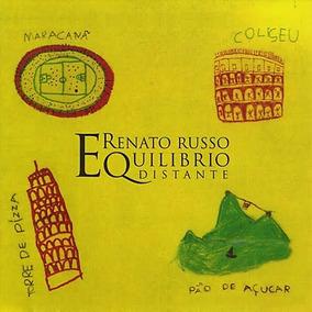 Cd Renato Russo - Equilibrio Distante - Musicas Italianas
