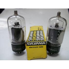 Tubo 6dq6 Sylvania Americanos,amplificador,guitarra,pedales.