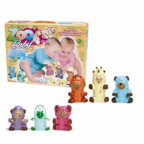 Brinquedo Educativos Bichinhos De Montar - Zoo Baby