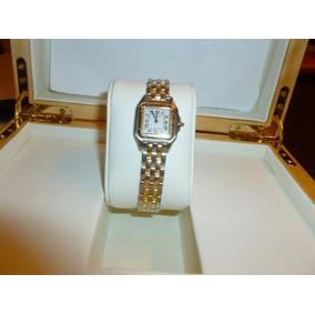 Reloj Cartier Panthere Acero- Oro Dama