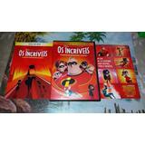 Dvd Duplo Os Incríveis Edição De Colecionador Original