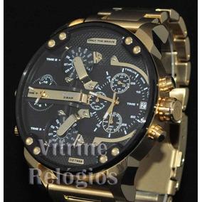 9fb5ba07d06 Relógio Diesel Dz4268 Dourado Masculino 100% Original - Relógios De ...