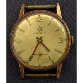 3ff8e97bb62 Relógio Antigo Corda Mirvaine - Relógios no Mercado Livre Brasil