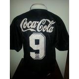 Camisa Vasco Antiga Original Finta Coca Cola Impecável - 08 866a7b1e7f971