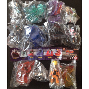 Gashapon Naruto Maxi Collection Sharingam 6 Bonecos Bandai