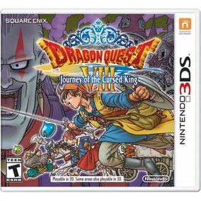 Dragon Quest Viii Journey Cursed King Mídia Física Novo 3ds