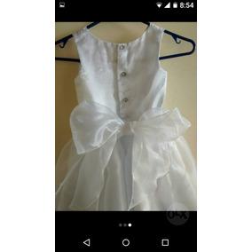 Vestido Blanco Para Niña