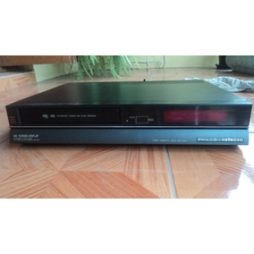 Vídeo Cassete Deck Philco Hitachi Pvc 5000