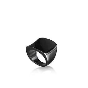 Anillo Blizz Baño Metal Precioso Rutenio Negro Yanbal No 5