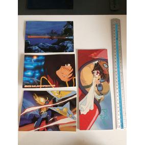 Kit Cartão Postal Anime Manga Japao Import Harlock Porco V