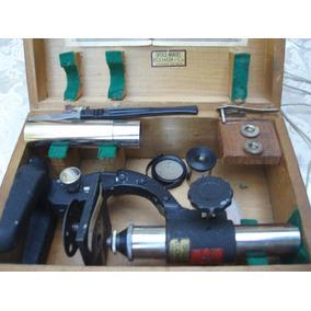 Microscopio Stabel De Luxe Impecable Caja De Madera (135)