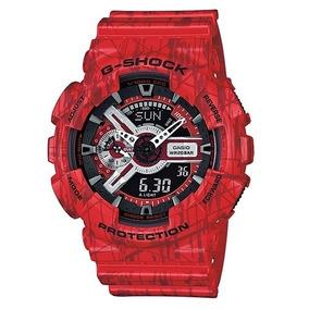 Relógio Masculino Casio G-shock Ga-110sl-4adr Nota Fiscal
